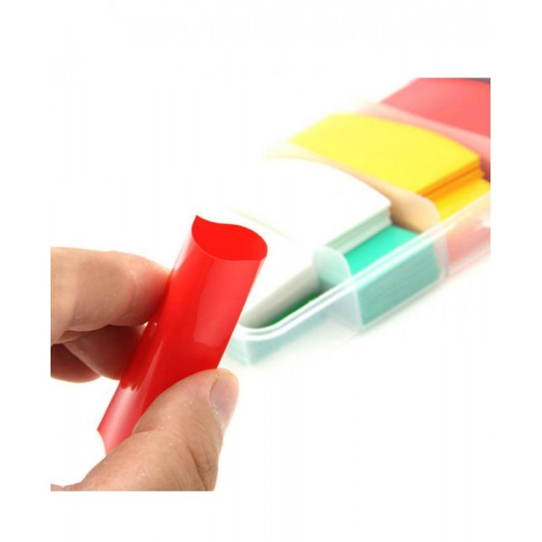 300PCS Colorful 18650 Battery Stickers